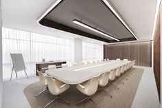 Office Cabin Design, Office Interior Design, Office Interiors, Corporate Design, Design Studio, House Design, Conference Room Design, Interior Design Presentation, Zaha Hadid