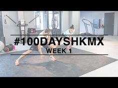 Week 1 #100daysHKMX challenge. Weekly workout video's with Manon and Guy to get fit and in shape. Manon tells you all about her healthy lifestyle on MonStyle!