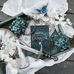 Its time for my next #darkfaesbookrecs post!!! Today Im featuring Song of the Current by @sarahtolcser!!!! . I feel like this was such an underrated book because it was great and o never really saw much buzz for it!!! This is a fun story with a witty heroine swashbuckling action and intriguing romance!!! . When I read this I was actually surprised because I was anticipating a high fantasy story and instead it ended up being more of a pirate adventure story mixed with magic!!! . If you havent…