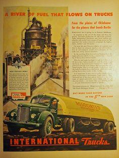 Vintage International truck