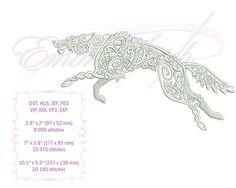 Embroidery Services, Embroidery Files, Embroidery Patterns, Machine Embroidery, Satin Stitch, Celtic Knot, Dares, Wolf, Digital