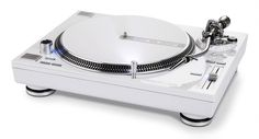 OK, that arm might look rather familiar – it's an OEM arm used on other decks – but Reloop has put a lot of itself into this design. A Technics SL-1200 Mk.II with go-faster stripes, it's ideal for those who like to give eBay a wide berth. A relatively light weight model (at 9.5kg), it features a solid plastic chassis with a metal upper. Coming with MIDI, a digital read-out and a single bank of effects pads, it ain't cheap but it is laden with features.