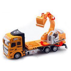 Super cooler Spielzeug Lastwagen mit Kran