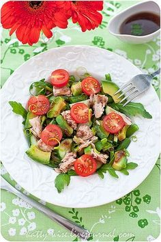 Tuna and Vegetable Salad Top Salad Recipe, Salad Recipes, Vegetable Pasta Salads, Chili Mac, I Chef, Appetizer Salads, Tasty, Yummy Food, Cooking Recipes