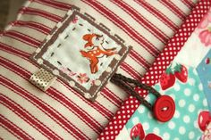 Adorable hexie pocket pillow by Amy of Nana Co.  Such cute details!!!