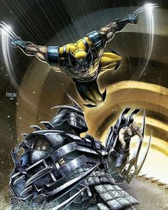 "juan negron on Instagram: ""#wolverine #logan #weaponx #xmen #xforce #marveluniverse #marvelcomics #shredder #tmnt #tagtheartist"" Marvel Fan, Marvel Comics, Logan Wolverine, X Force, X Men, Marvel Universe, Battle, Wonder Woman, Fan Art"