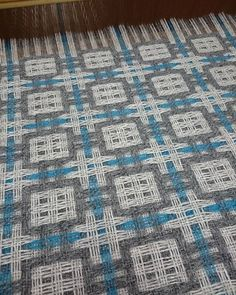 deflected double weaving.