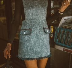 mini skirt jumper, retro style