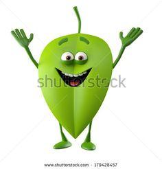 stock-photo-green-leaf-d-character-bio-eco-mascot-natural-man-cheerful-cartoon-icon-179428457.jpg (450×470)