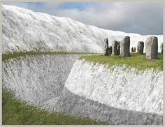 Avebury as it once was