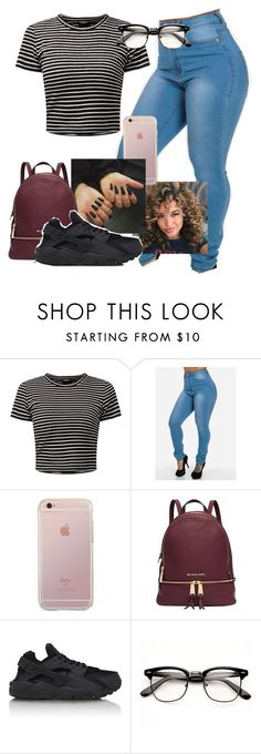 """Untitled #199"" by khanyajane on Polyvore featuring Michael Kors and NIKE"