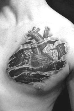 50 ripped skin tattoo designs for men - manly torn flesh ink Small Tattoos With Meaning, Small Tattoos For Guys, Small Wrist Tattoos, Ripped Skin Tattoo, Mens Shoulder Tattoo, Man Sketch, 3d Tattoos, Chest Tattoo, Tattoo Sketches