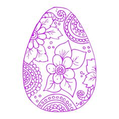 Digi-tizers Egg Zentangle 12 (SVG Studio V3 JPG)   We also make shirts, vinyl decals, wall art, koozies and more! If you would like any of our designs on a different item than listed please send me a message and I will see if we can accommodate you. *Note.. if you ordered a digital