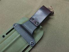 Image result for kydex sheath belt attachment
