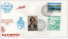 Olympic Airways - 1st Flight AIRBUS A300 ATHENS - IRAKLIO (5-5-80)