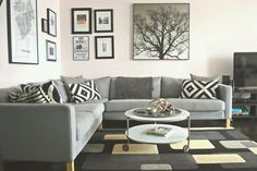 the boo and the boy: my house. Strind coffee table from IKEA