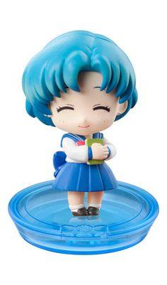 Sailor Moon Petit Chara Pretty Soldier School Life ( Ami Mizuno ) Variante B  Sailor Moon - Hadesflamme - Merchandise - Onlineshop für alles was das (Fan) Herz begehrt!