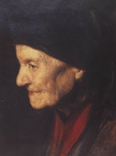 Granny by Nikolaos Gyzis - Νικόλαος Γύζης - Η γιαγιά