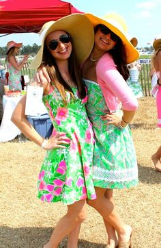 Carolina Cup - sorority sisters!