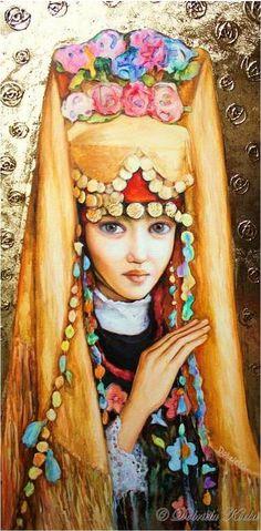 Little Bugarian Girl by Dobriela Koeba. (Bulgaria)