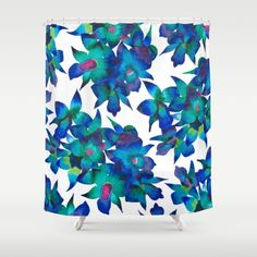 Orchid Fascination  - orchid #orchidlovers #pattern #art #artwork #design #blue…