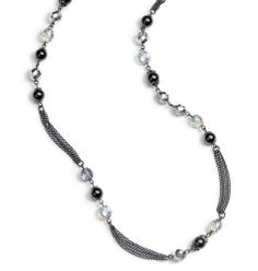 FOREVER selected by Paula Abdul Shimmer Bead Long Necklace www.youravon.com/mparisvogt