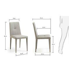 LaForma :: Krzesło Chic Jasnoszare C624J14 | 9design.pl Warszawa Tv Unit Furniture, Iron Furniture, Sofa Furniture, Furniture Design, Diy Storage Sofa, Diy Sofa, Bunk Beds With Stairs, Wood Sofa, Cabinet Decor