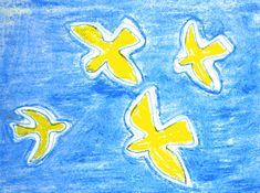 Dessiner des oiseaux à la manière de Braque
