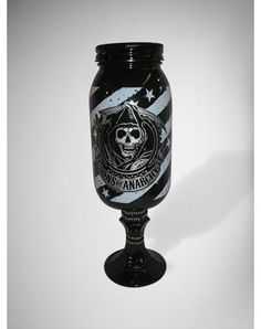 Sons of Anarchy Jar Pimp Cup $19.99 @ Spencer's Gifts.