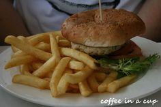 eating crocodile burger in cairns (queensland, australia) #thisisqueensland