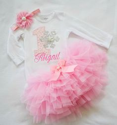 Winter Onederland Outfit girls first birthday outift first birthday tutu winter 1st birthday girls pink silver winter onederland wonderland by KidsFunLand on Etsy https://www.etsy.com/listing/257148135/winter-onederland-outfit-girls-first
