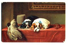 cavàlier king charles spaniel art | Now the Cavalier King Charles Spaniel is much more popular than its ...