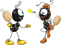 SMILINGUIDO Ants, Cinema, Fictional Characters, Activities, Cute Things, Friendship, Wall, Bee Drawing, Painting & Drawing