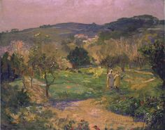 A Garden in Morocco by Sir John Lavery