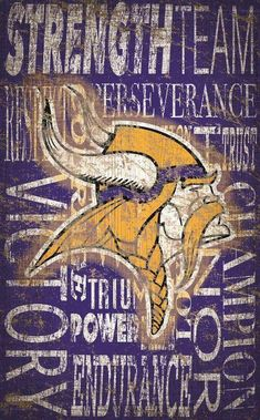 Minnesota Vikings Heritage Word Collage Are you true Vikes Fan? This Vikings gear for you! Tap link and get yours now! Minnesota Vikings Wallpaper, Viking Signs, Viking Wallpaper, Nfl, Minnesota Vikings Football, Word Collage, Football Boys, Football Wall, Football Stuff