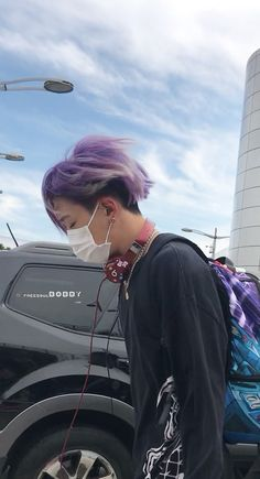 Yeah that fabulous purple hair