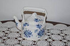 vintage porcelain tea pot