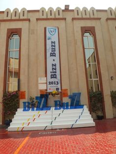 21/09/2013: The banner Showcasing IHS' BIzzBuzz... An enterprise to encourage students to become proactive business leaders of tomorrow.