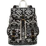 SM New York Aztec Print Cargo Backpack