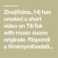Zina(@zina..14) has created a short video on TikTok with music suono originale. Rispondi a @mimymihaela999 #zina14 Math Equations, Create, Music, Musica, Musik, Muziek, Music Activities, Songs