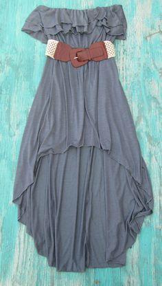 Gypsy High Low Dress | Elusive Cowgirl - Western Wear, Cowgirl Clothing, Cowgirl Sunglasses