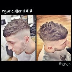 Edgy undercut with a curl