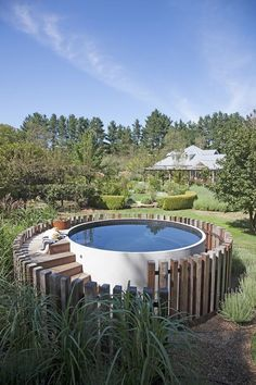 148 best beautiful above ground pools images ground - Beautiful above ground pools ...