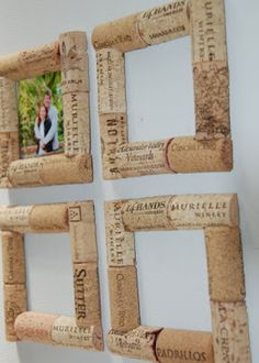 Wine cork photo frame magnet - magnet Bouchon cadre de photo Wine cork photo frame magnet - magnet Bouchon cadre de photo Make 32 coolest wine corks for childrencoolest wine cork craft and DIY decoration Wine Craft, Wine Cork Crafts, Wine Bottle Crafts, Diy Bottle, Crafts With Corks, Diy Corks, Creative Crafts, Diy Crafts, Wooden Crafts