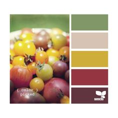 A Fresh Take on Fall Colors Inspiration Boards from Design Seeds found on Polyvore