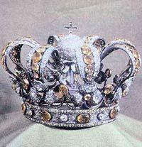 CORONA REAL DE ESPAÑA REGALO DE ISABELL II A LA VIRGEN DE ATOCHA