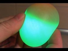 How To Make A Glowing Rubber Egg - DIY Projects for Teens