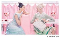 {The Best Fashion Ads 2012 by Harper's BAZAAR}: LV Spring 2012 by Steven Meisel