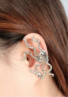 Popular Gold Plated Or Silver Plated Punk Stud Earring
