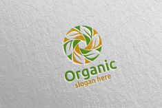 Natural and Organic Logo design 44 by denayunebgt on @creativemarket